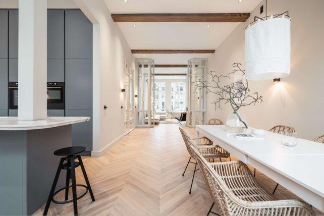 hongaarsepunt keuken keizersgracht echtparket eiken vloeren p1