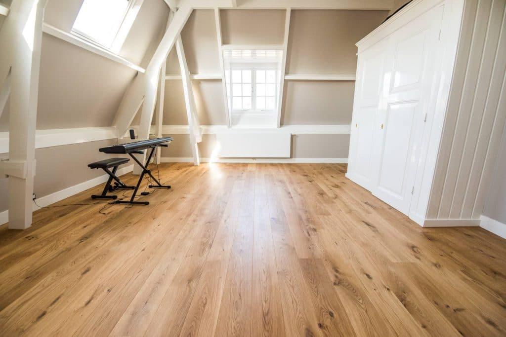 rechte planken Echtparket eiken vloeren 1