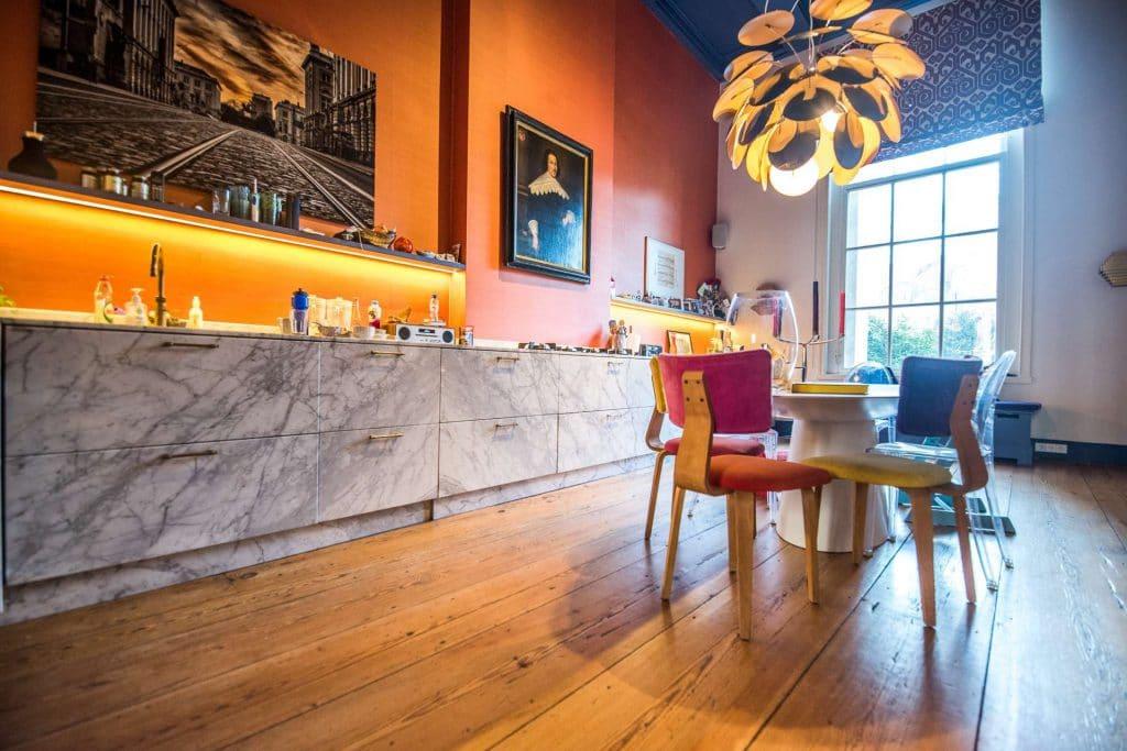 schuren restauratie rechte planken eiken vloeren Echtparket 1